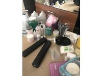 Acrylic Nail items and gel polish