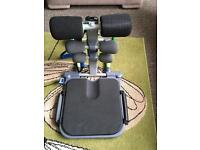 Abdominal exerciser equipment