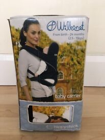 Baby carrier from birth to24 month black -used