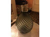 Stunning glass vase