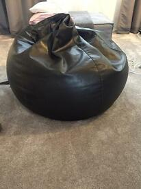 Faux Leather beanbag