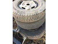 Ford transit wheels and tyres 215 75 16c