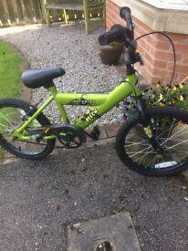 Boys bike full working order 18i wheels