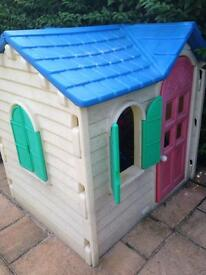 Little tykes playhouse -awaiting collection