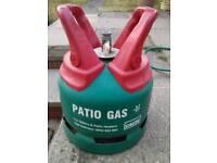 5kg Calor Gas Patio Bottle. Full.