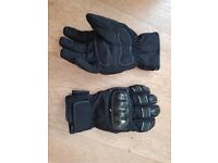 Ladies Triumph Motor Cycle Gloves, Size LL. Very Good Condition
