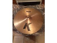 Zildjian K 17'' Thin Dark Crash Cymbal