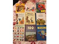 Bundle of 9 kids encyclopaedias
