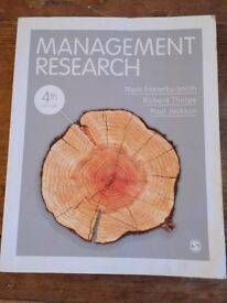 MANAGEMENT RESEARCH BOOK - Mark Easterby-Smith, Richard Thorpe, Paul Jackson