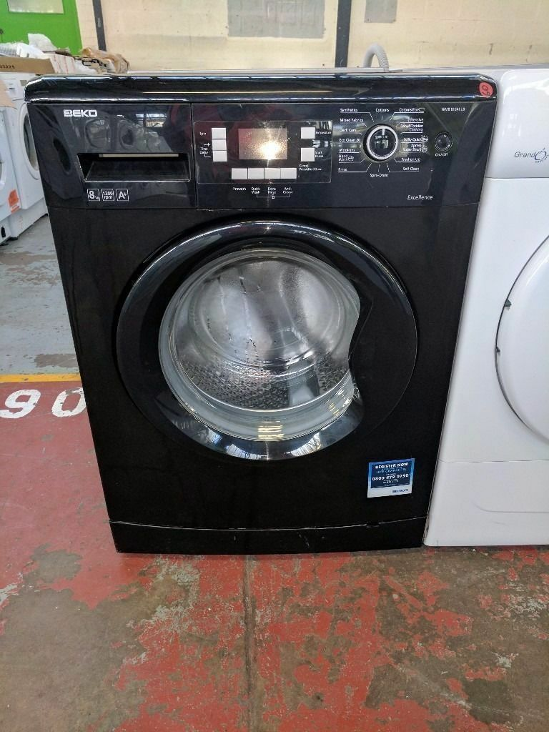 Beko Washing Machine (8kg6 Month Warrantyin Liverpool City Centre, MerseysideGumtree - Black Beko Washing Machine (8kg, 1400 spin,) (latest model.) Factory Refurbished. Excellent Condition 6 Month Warranty Free Local Delivery Removal Of Old Appliance Many Makes and Models Liverpool Appliances 25 County Road Walton L4 3QA