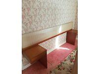 Vintage Teak Headboard - Great Upholster Project