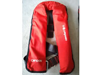 Compass Automatic self inflating life jacket