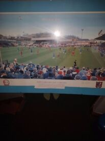 Scarborough v chelsea football print fa cup 3rd print of 500