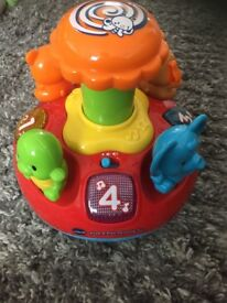 Vtech push and play spinning top