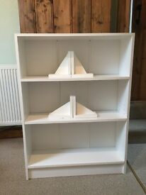 White Bookcase for sale