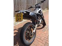 CPI SX Motocrosser 50cc Road legal bike With MOT till August. great first bike 2 Stroke engine.