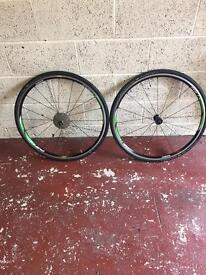 Shimano rs 11 complete wheel set