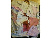 Baby girl clothes up to 1 month