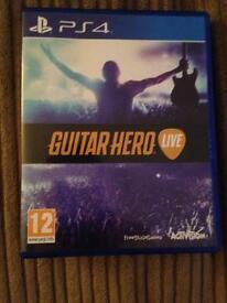 GUITAR HERO LIVE PS4 £15!!!