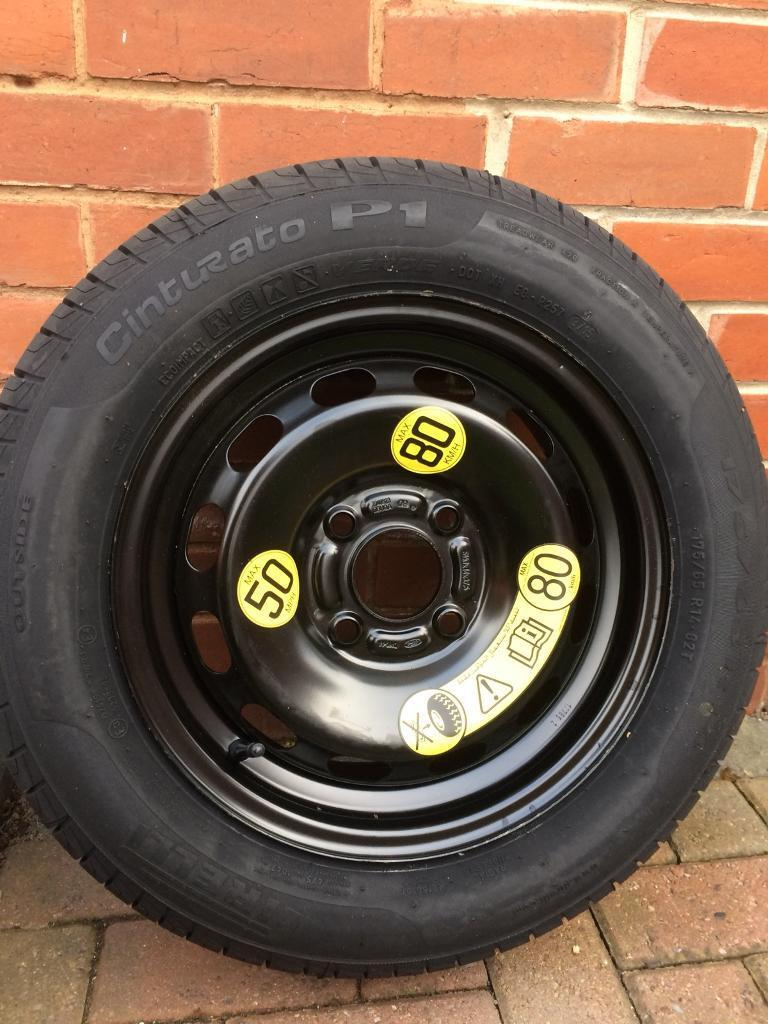 Brand new wheel and tyre