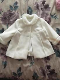 Mayoral designer baby coat
