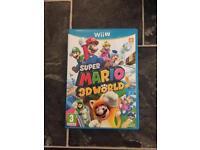Wii U game super Mario 3D world