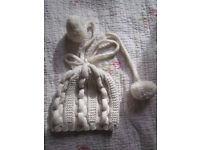 Handmade wool winter hat, £10