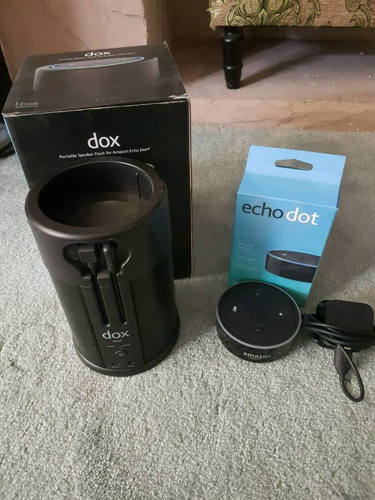 378ba5a05fefae Amazon Echo Dot with Dox External Speaker | in Larkfield, Kent ...
