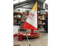 Bell sailing dingy rowing boat tender