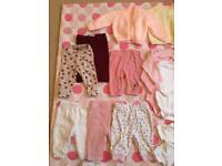 Baby girl bundle of clothes 0/3 mo