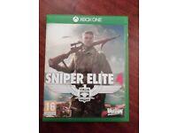 X Box One Sniper Elite 4