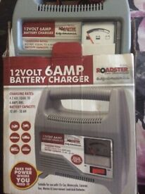 Battery charger 12V 6AMP