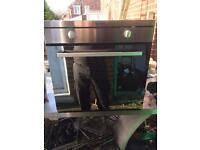 Indesit integrated electric oven (stainless)