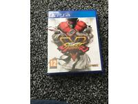 Street fighter ps4 game