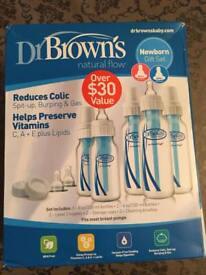 Brand New Narrow Neck Dr Brown's Bottles
