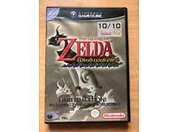 The legend of Zelda the wind waker GameCube