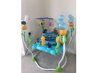 As New - Disney Baby Finding Nemo Sea of Activities Baby Jumper
