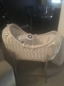 Clair de lune baby crib and tommee tippee baby prep bottle machine