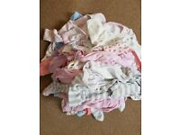 Bundle of baby girl size 3-6 month items