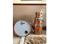 Gretsch Renown Drum Kit Deep Inca Gold Sparkle
