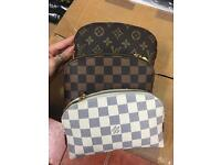 Mini Louis Vuitton real leather pouch