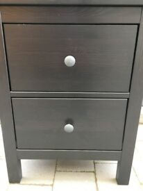 Small Bedside Unit. Ikea 'Black'
