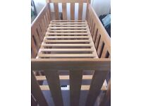 Next Cot - Very sturdy, with mattess