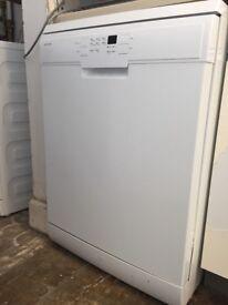 John Lewis JLDWW1203 dishwasher, white, as new, still under guarantee, 13kg capacity, free-standing