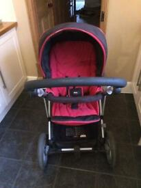 Britax vigour 3+ pushchair travel system