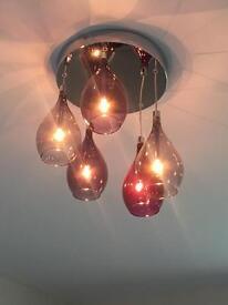 NEXT Plum Hanging Lights