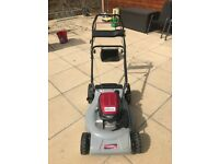 "Honda 21"" cut self propelled mower"