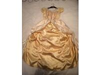 Princess belle fancy dress
