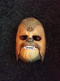 Chewie mask with sounds