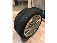 BMW M Sport Alloy Wheel and Tyre 18""